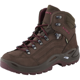 Lowa Renegade GTX Mid Shoes Women, espresso/beere